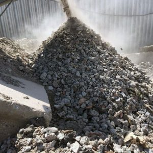 бетонный бой рецикл