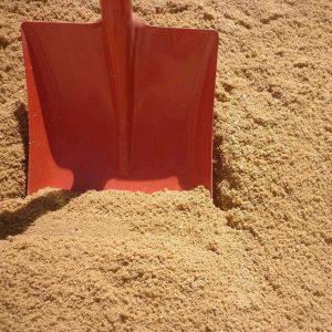 песок строительный средний